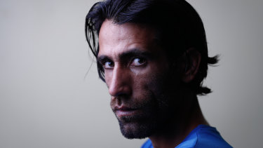 Behrouz Boochani, author of No Friend but the Mountains.