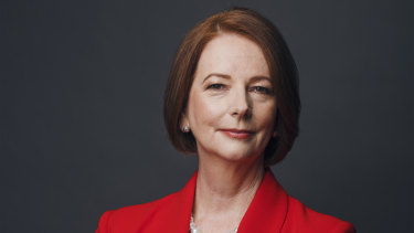 Former prime minister Julia Gillard says the coronavirus pandemic risks progress on climate change and improving pay and conditions for frontline workers.