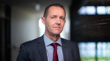 Driving culture change: Michael Keenan, principal of Thornbury High School.