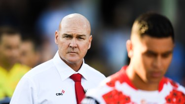 Paul McGregor's job is safe, for now.