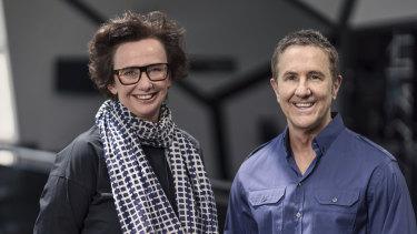 Melbourne Theatre Company executive director & co-CEO Virginia Lovett  and artistic director & CEO Brett Sheehy.