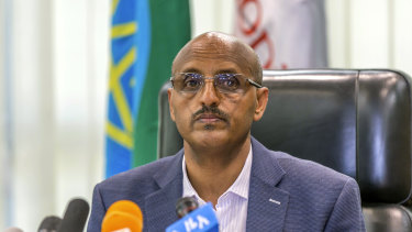 Ethiopian Airlines chief executive Tewolde GebreMariam.