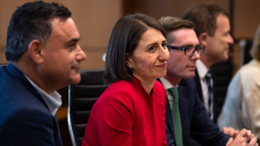 Premier Gladys Berejiklian says NSW has reached a turning point while Deputy Premier John Barilaro says it is time to lift all restrictions.