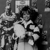 Simply the best: Tina Turner ahead of the 1993 grand final.