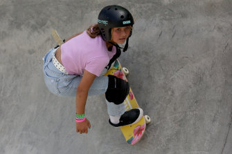 At 13, Sky Brown is the youngest British Olympian ever.