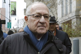 "Alan Dershowitz was part of the so-called ""Dream Team"" of lawyers who won the 1995 acquittal of O.J. Simpson."