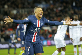 Kylian Mbappe and his star-studded Paris Saint-Germain side have won their seventh French crown in the past eight seasons.