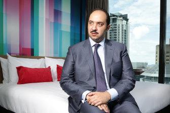 Sheikh Mubarak al-Sabah in 2016