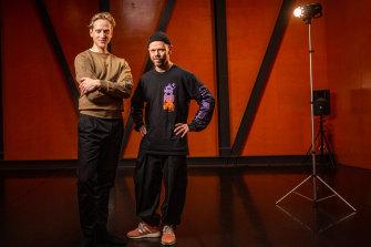 Australian Ballet artistic director David Hallberg (left) and Chunky Move artistic director Antony Hamilton (right).