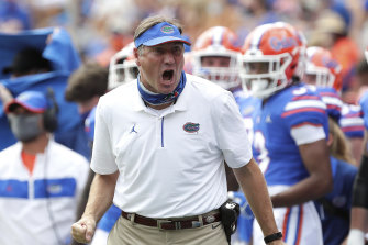 Florida coach Dan Mullen has tested positive for COVID-19.
