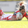 Dragons roar back into contention on landmark NRLW afternoon
