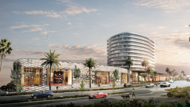Plans approved. What Westfield Doncaster's new office block will look like.