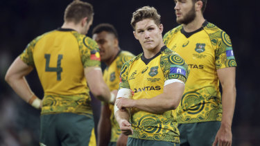 Tough call: Skipper Hooper informed coach Cheika of the disciplinary breach involving Beale and Ashley-Cooper.