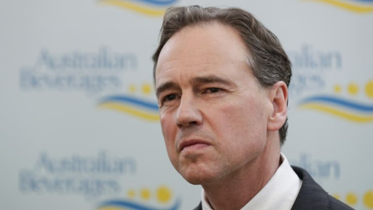 Health Minister Greg Hunt has assured the public about security of My Health Record.