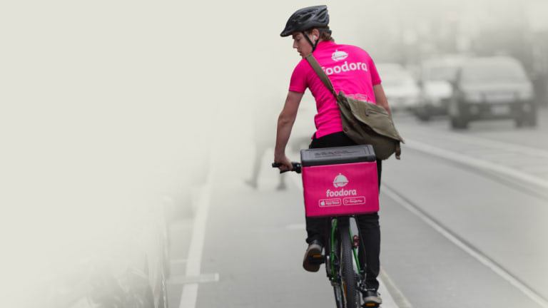 Gig economy workers such as Deliveroo and Foodora riders are regarded as independent contractors and not paid super.