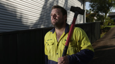 Daniel Cook is one of a number of contractors who has not been paid by Jump!