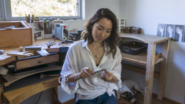 Fairinia Cheng the founder of Fairina Cheng Jewellery has used the instant asset write off to purchase equipment for her business.
