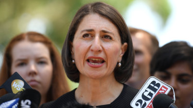 NSW Premier Gladys Berejiklian announces education funding this week.