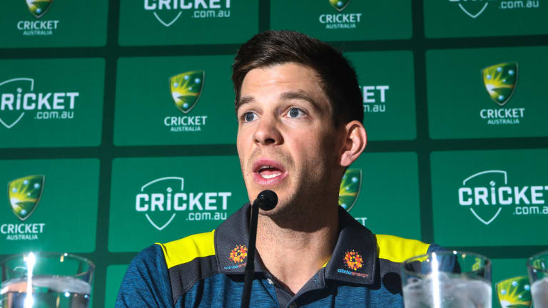 Australia's Test captain Tim Paine.