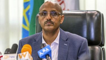 Ethiopian Airlines chief executive Tewolde GebreMariam.