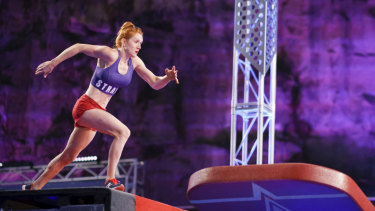 Olivia Vivian made history Australian Ninja Warrior on Sunday night.