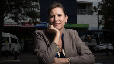 """""""The main issue for people that live in the area is development"""": Liberal candidate Wendy Lindsay."""