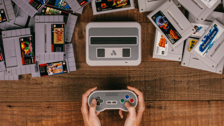 The Super Nt plays Super Nintendo cartridges from any region, and works with original accessories too.