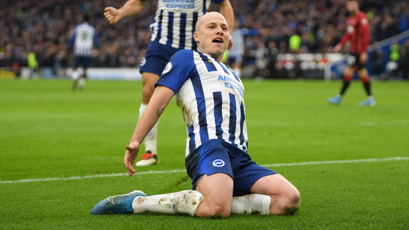 Aaron Mooy unlikely to leave Brighton in January