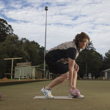 """Robyn Perren: """"She's got more balls than me,"""" says one local."""