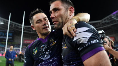 'Cam will be on top of our list': First Cronk, now Storm eye Smith