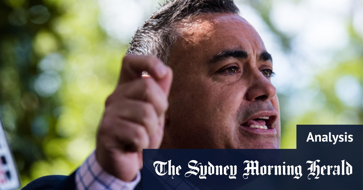 Wrong tactic at wrong time may be end of the line for Barilaro – Sydney Morning Herald