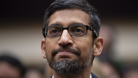 Google CEO tells Congress why Trump comes up in searches for 'idiot'