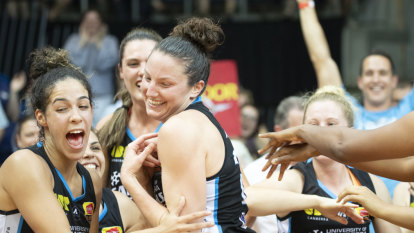 Kelsey Griffin claims her third WNBL grand final MVP