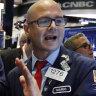 Wall Street shoots higher to cap a volatile week