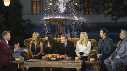The Friends reunion was the very best of America as it used to be: hokey and warm
