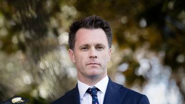 NSW Labor MP Chris Minns.