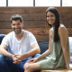 Canva co-founders Cameron Adams (left), Cliff Obrecht and Melanie Perkins have seen their business hit a $55 billion valuation.