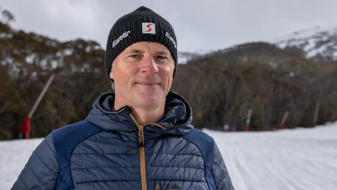 Twenty-four years after being rescued from a landslide on the mountain, Stuart Diver is Thredbo's resort operations manager.