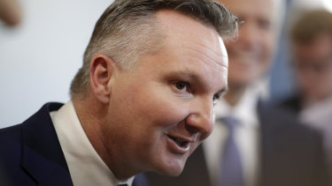 Shadow treasurer Chris Bowen says the government's own budget forecasts predict the economy will slow