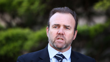 SANZAAR boss Andy Marinos is expected to become the next chief executive of Rugby Australia.