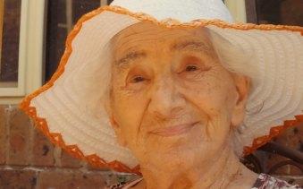 Dorothy Fuller on her 95th birthday.