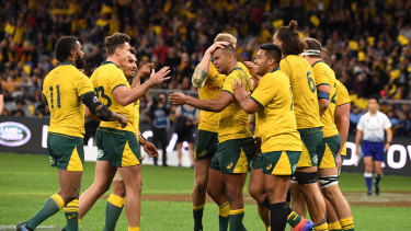 The same squad that beat the All Blacks has been retained for the Bledisloe decider.
