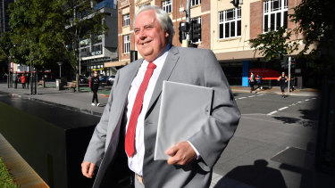 Clive Palmer explains rising prices of nickel and cobalt linked to electric car batteries is behind his decision to re-open Queensland Nickel.