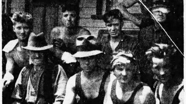 Survivors from the Yelland's mill, in the Matlock Forest.