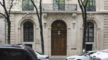Jeffrey Epstein's New York house has been valued at around $US77 million.