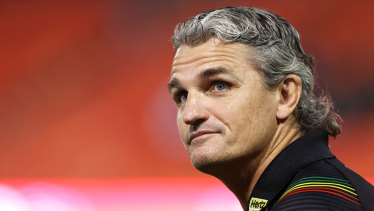 Ivan Cleary has been hailed as the man responsible for the success in all three grades at Penrith.