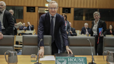 Reserve Bank Governor Philip Lowe released a report on Friday lowering domestic growth expectations.