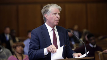 Manhattan District Attorney Cyrus Vance.