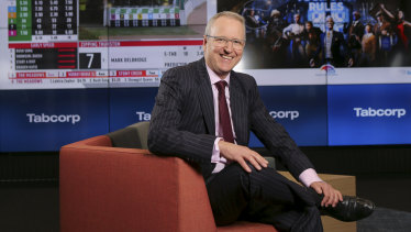 Tabcorp CEO David Attenborough. The wagering company is working to obtain waivers on more of its loans.