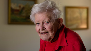 Val Fell, 91, is hoping she will never have to go into aged care.